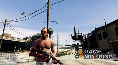 Battlefield Hardline Tommy Gun for GTA 5