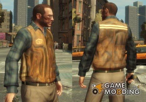 "Кожаная куртка ""Jack Daniels"" for GTA 4"