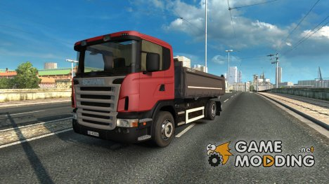 Scania Dumper 6×4 for Euro Truck Simulator 2