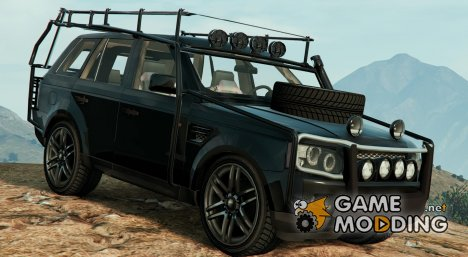 Range Rover Sport Military(Police Assault Vehicle 2.0) для GTA 5