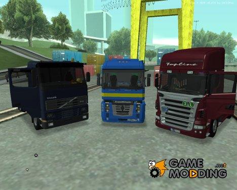 Пак дальнобойщика №5 для GTA San Andreas