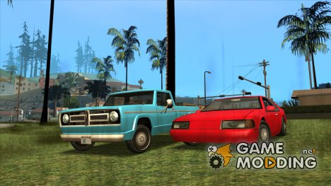 Improved SA Default Cars (Fixed by S.M.7) для GTA San Andreas