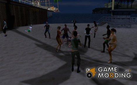 SantaMaria Beach Resto & Live Entertainment v2 for GTA San Andreas