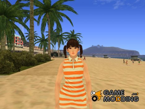 Beautiful girl для GTA San Andreas