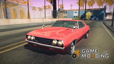 GTA V Vigero for GTA San Andreas