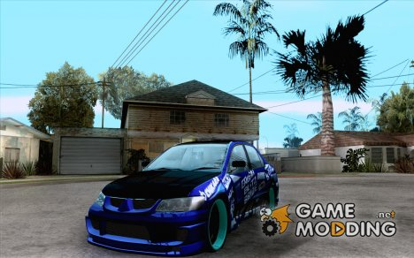 Mitsubishi Lancer Evo 8 Tuning for GTA San Andreas