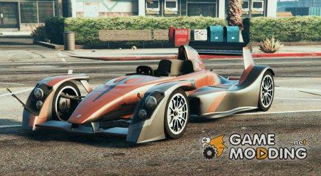Caparo T1 for GTA 5