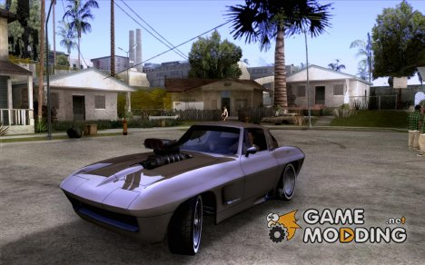 Chevrolet Corvette Big Muscle для GTA San Andreas