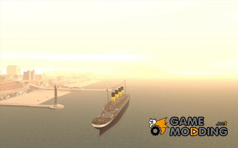 RMS Titanic for GTA San Andreas