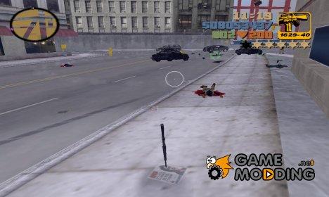Сброс уровня розыска для GTA 3