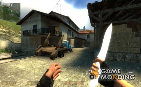 Shining White Knife [in the sunlight] для Counter-Strike Source
