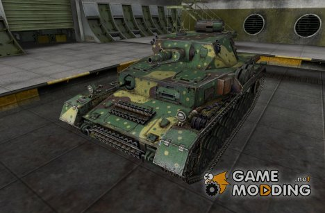 Шкурка для Pz IV AusfGH для World of Tanks