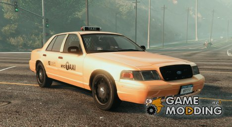 NYPD FORD CVPI Undercover Taxi NEW 4K for GTA 5