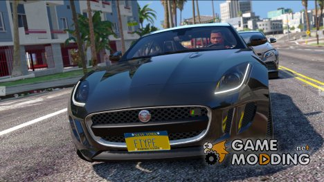 Jaguar F-Type R-SVR for GTA 5