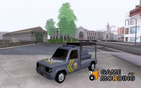 Toyota Kijang GE Pol PP for GTA San Andreas
