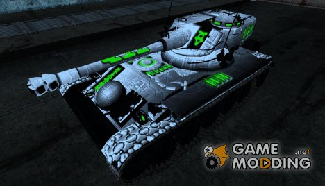 Шкурка для AMX 13 75 №14 for World of Tanks
