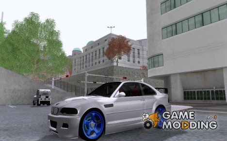 BMW M3 E46 Tuned for GTA San Andreas