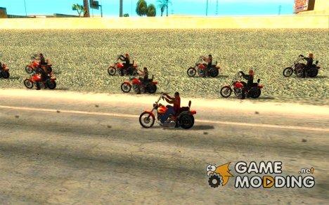 BikersInSa (БАЙКЕРЫ В SAN ANDREAS) for GTA San Andreas