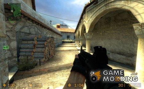 HK416 on Killer699' anims для Counter-Strike Source