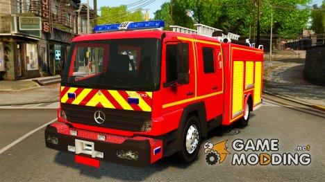 Mercedes-Benz Atego FPTGP Sapeurs Pompiers [ELS] для GTA 4