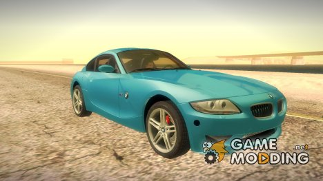BMW Z4M Coupe - Stock 2008 для GTA San Andreas