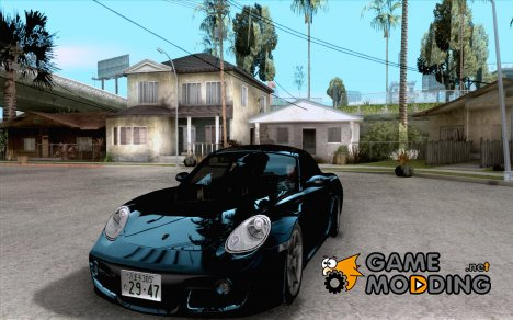 Porsche Cayman S Snow for GTA San Andreas