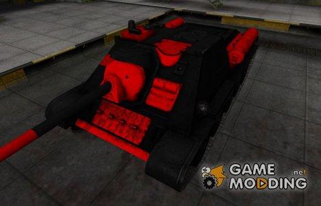 Черно-красные зоны пробития СУ-85 для World of Tanks
