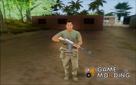 GTA 5 Soldier v3 for GTA San Andreas