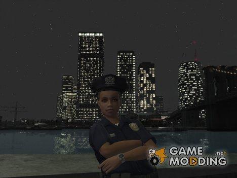 GTA V женщина-полицейский для GTA 4