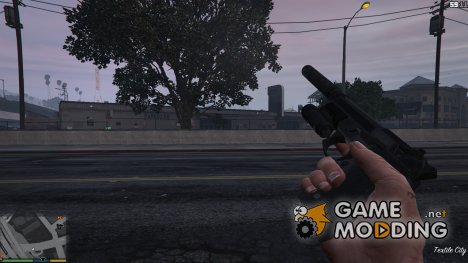 PAYDAY 2 Beretta 92FS Centurion 1.0 for GTA 5