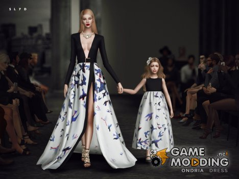 Ondria Dress для Sims 4