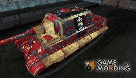 Шкурка для JagdTiger (Вархаммер) for World of Tanks