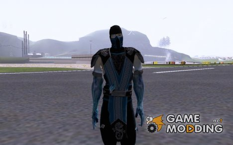 Sub-Zero from Mortal Kombat vs DC Universe for GTA San Andreas
