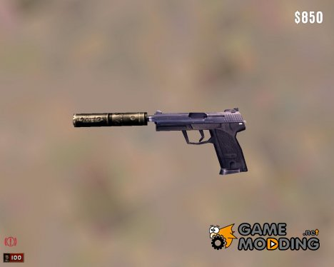 USP-S из CS 1.6 for Mafia: The City of Lost Heaven