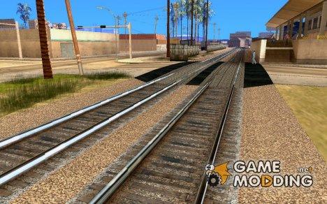 Новые рельсы for GTA San Andreas
