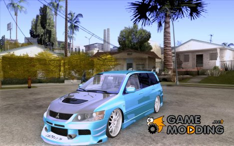 Mitsubishi Lancer Evolution IX Wagon MR Drift Spec для GTA San Andreas