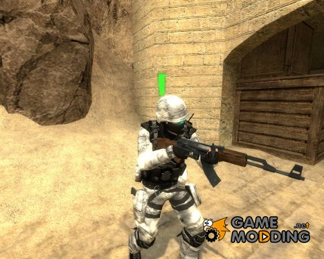 Happycamper´s Soldier Of The Future для Counter-Strike Source