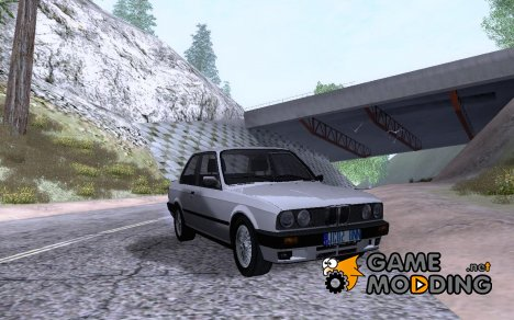 BMW E30 325i Coupe - Stock для GTA San Andreas