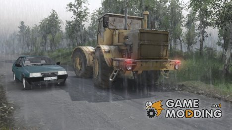 Дождь v3 for Spintires 2014