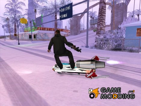 Анимации к моду Летающий скейтборд для GTA San Andreas