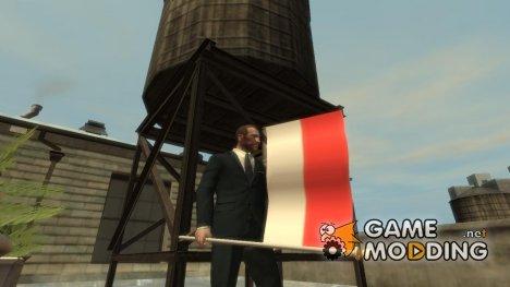 Индонезийский флаг для GTA 4