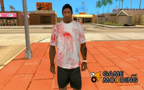 Blood T-shirt for GTA San Andreas