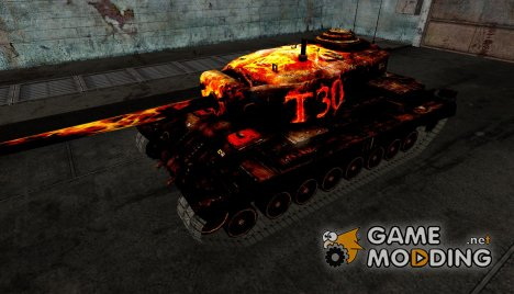 шкурка для T30 №32 для World of Tanks