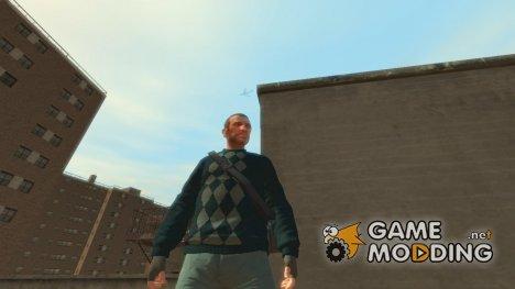 Свитер с ромбами для GTA 4