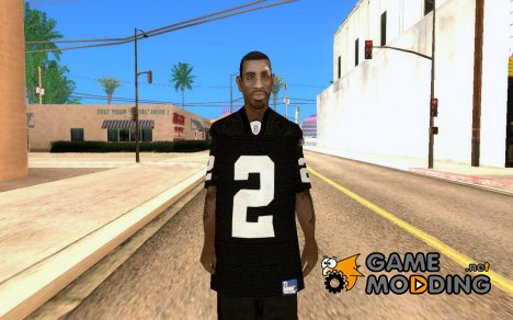 Black Jersey for GTA San Andreas