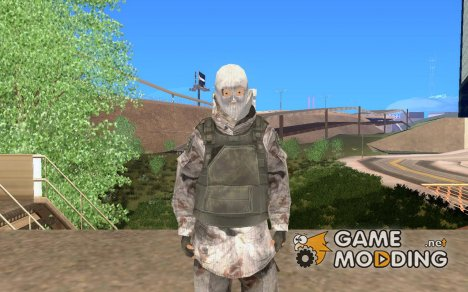 Русский солдат из COD 6 для GTA San Andreas