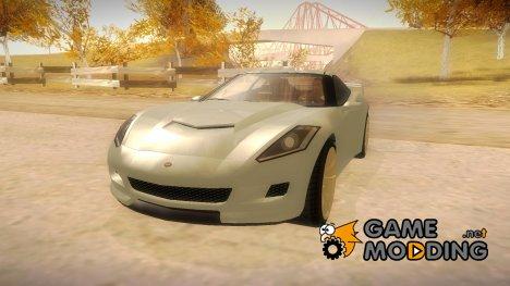 GTA V Coquette for GTA San Andreas