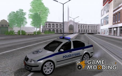 Octavia Israeli Police Car for GTA San Andreas