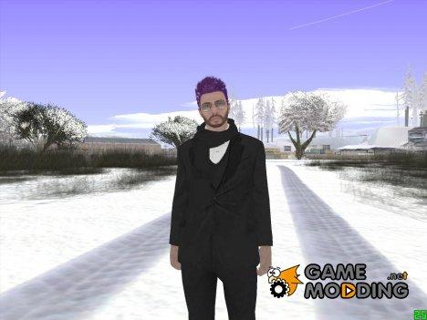 Skin GTA Online Random v5 для GTA San Andreas