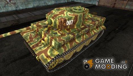 Шкурка для PzKpfw VI Tiger (историческая шкурка) для World of Tanks